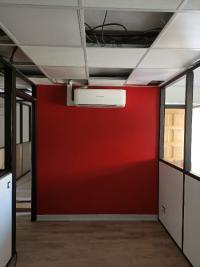 Pose de climatisation dans des bureaux sur la commune de Draguignan